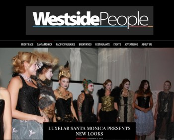 Westside People: Luxelab Santa Monica Presents New Looks