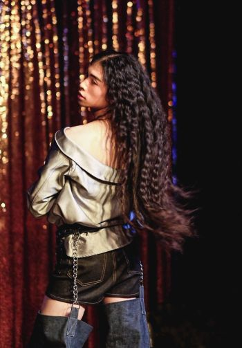 LAFW FW '17 Designer: Hardeman Lead Hair: Luxelab Creative Director Lauren Sill Photo: Liz Abrams