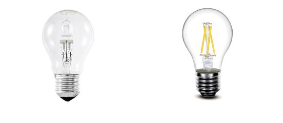 Halo bulb vs led bulb