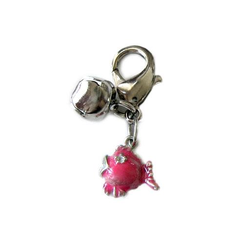 Pendant Pink Lulufish charm