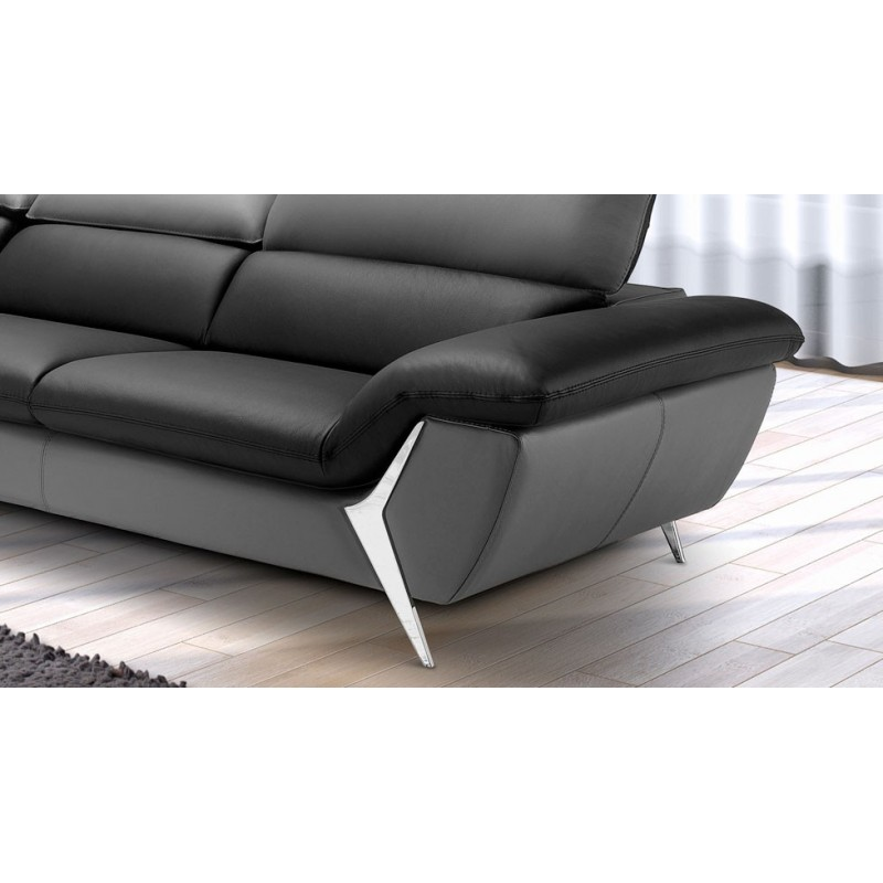 canap dangle en cuir de luxe monet fabricant italien verysofa with grand canap d angle cuir