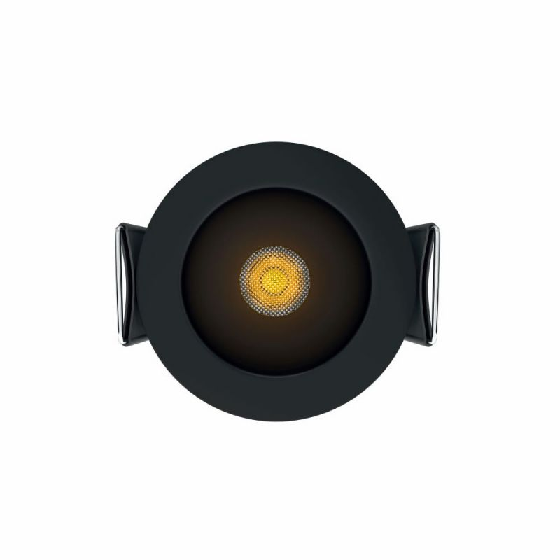 mini spot led encastrable pulsar noir 3 5 watts