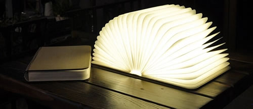 LAMPE LED LIVRE COUVERTURE BOIS Lampes LED Poser