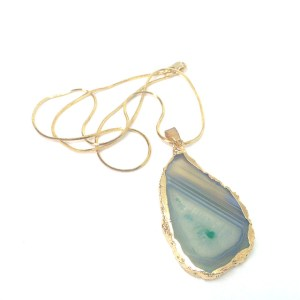 Agate Fashion Necklace
