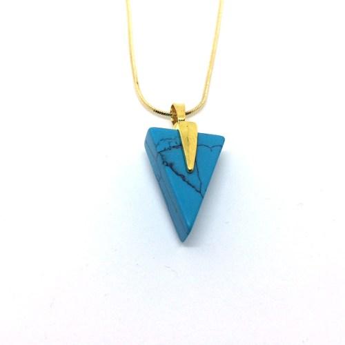 Turquoise Arrow Pendant