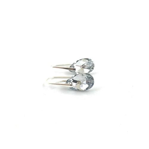 Sterling silver swarovski earrings online uk