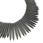 Black statement necklace online uk