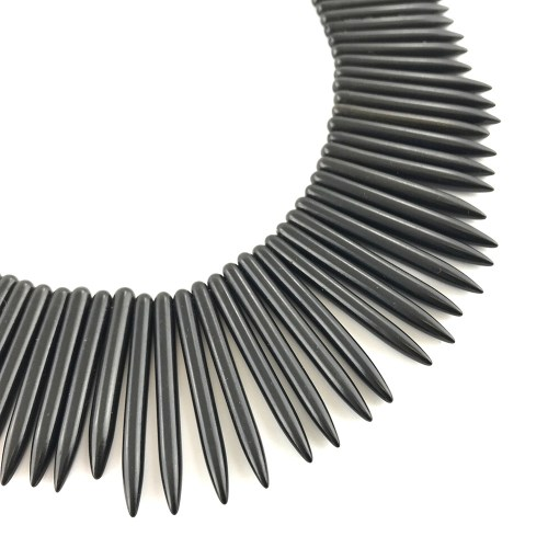 Black statement necklace online uk