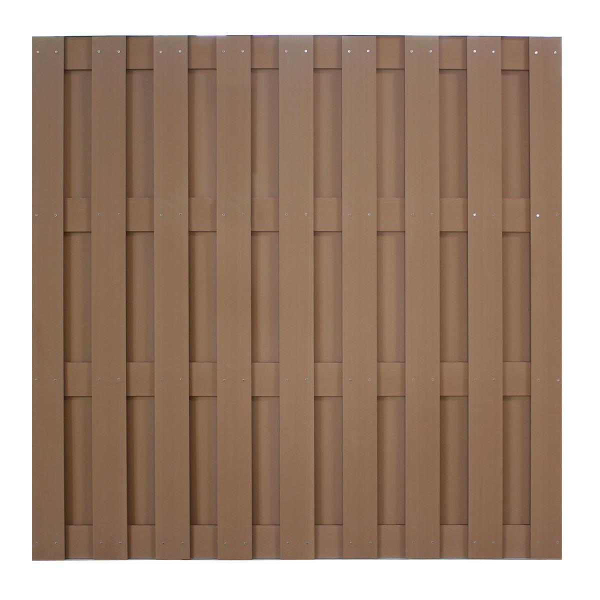 Neuholz Wpc Zaun 180x180cm Sichtschutz Zaunelemente