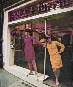CREDIT images reproduced from Foale & Tuffin - The Sixties. A Decade in Fashion published by ACC Publishing Group