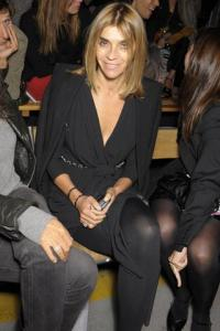 Carine Roitfeld, rédactrice en chef de Vogue Paris