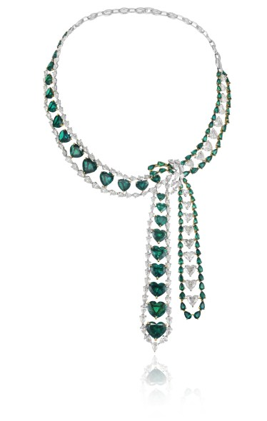 937889-9001 Hearth Emerald Necklace Red Carpet Collection petit