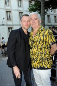 Jonny Johansson and Tim Blanks