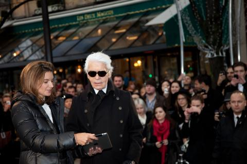 Paris_Natalie Massenet_Karl Lagerfeld_NET-A-PORTER
