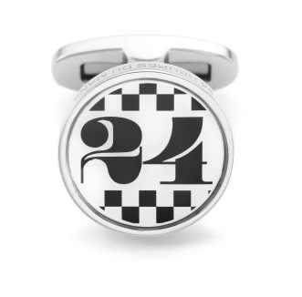24 HEURES DU MANS - bouton de manchette