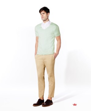 CELIO CLUB_NCEFRAN: t-shirt coton 19,99¤ NCABEN: chemisette coton 39,99¤ NCOCHINO: pantalon coton 49,99¤