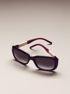 Women's Sunglasses / Navy-White-Burgundy