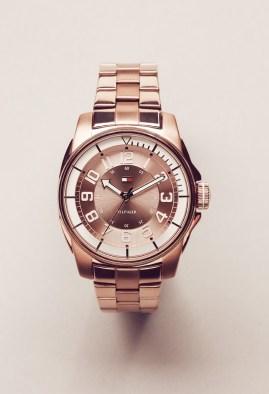 Women's Round Watch / Rose Gold
