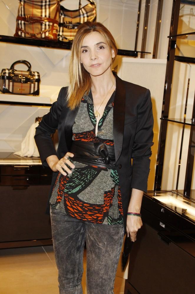 Clotilde Courau at the Burberry Eyewear event in Paris0004