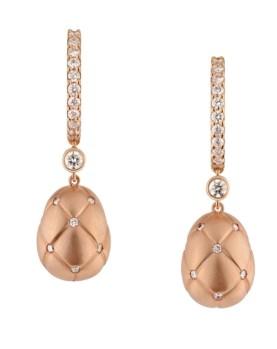 Masha Or Rose Earrings