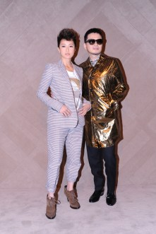 Denise Ho & Anthony Wong at the Burberry event in Pacific Place Hong Kong