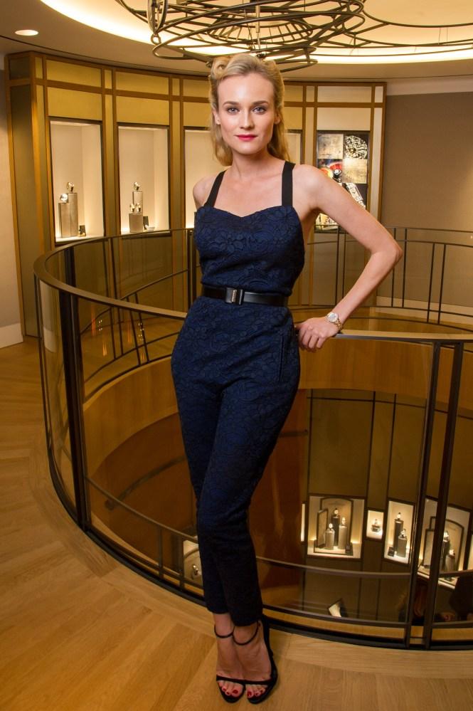 Diane Kruger at Jaeger-LeCoultre Place Vendome Boutique Opening