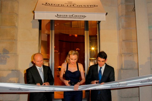 Ribbon Cutting of the Jaeger-LeCoultre Place Vendome Boutique low res