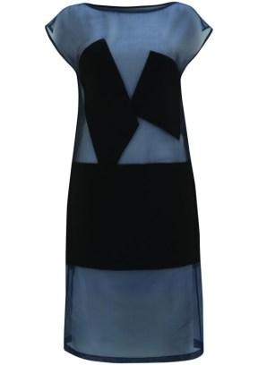 sheer fabric dress dress