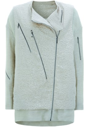 zip trim jacket