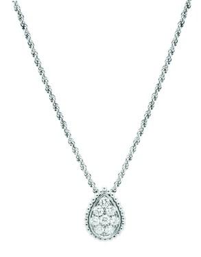 Serpent Boheme pendant in white gold set with diamonds2