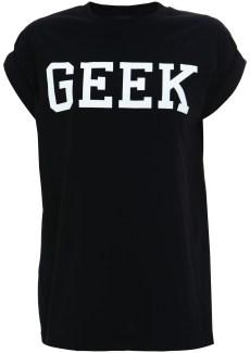 black geek tee