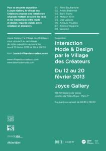 InvitationVernissageVDCJOYCE2013