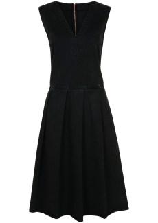 jw black denim dress