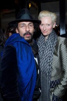 Bulgari_Haider Ackermann & Tilda Swinton_Paris_March 3rd 2013 @David Atlan