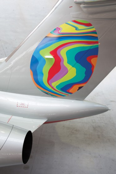 Fabergé - Artwork on VistaJet Plane 1