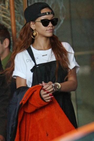 Rihanna wearing TL Punchy-2