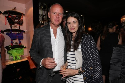 AP Cannes - Garry Hogarth (CEO of AP) - Leila Yavari (Fashion Director of Stylebop.com)