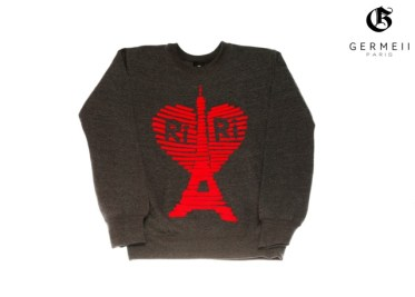 riri Sweatshirt gris anthracite + LOGO