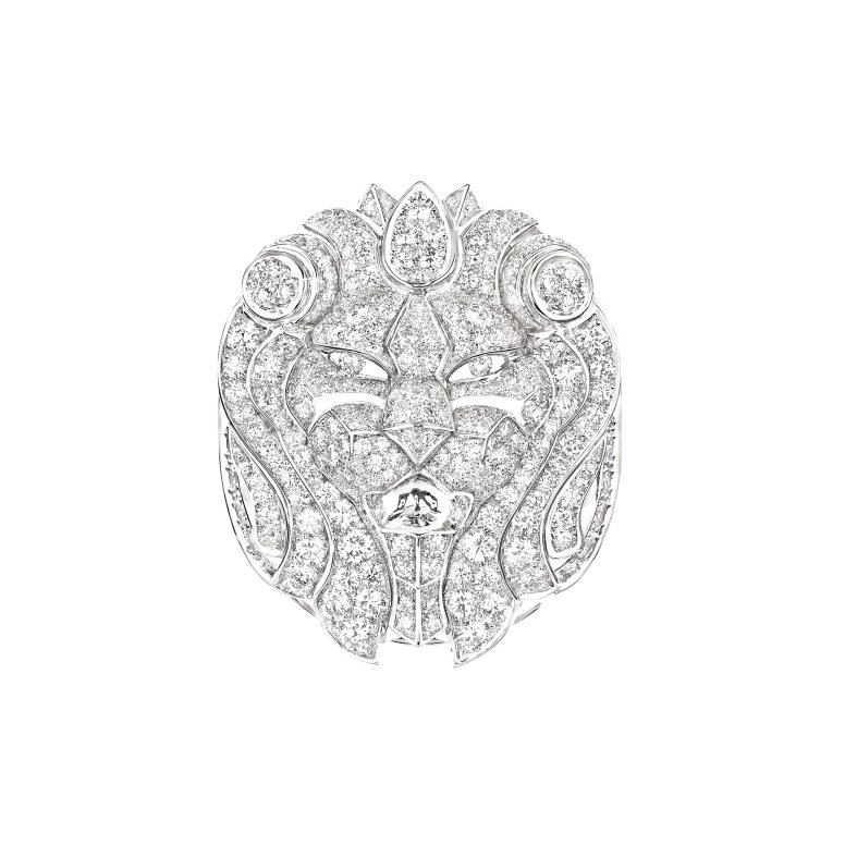 Bague Lion Imperial face J60434