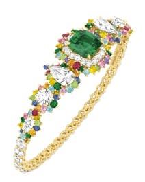 Bracelet Cher Dior Fascinante Emeraude 3-quarts