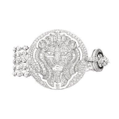 Bracelet_Lion Talisman GM J60386