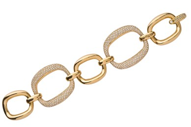Damiani Masterpiece - D.LACE bracelet in yellow gold with diamonds 20056234