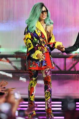 Lady Gaga in Vintage Versace Acceptance Speech.jpg