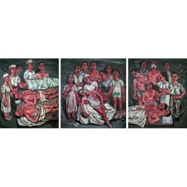 12.zeng_fanzhi_hospital_triptych_no.2