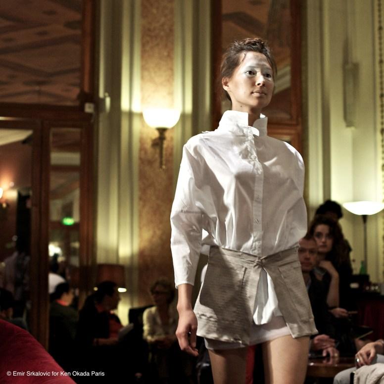 Fashion Week De¦üfile¦ü Ken Okada Ho¦étel Lutetia 24_09-12