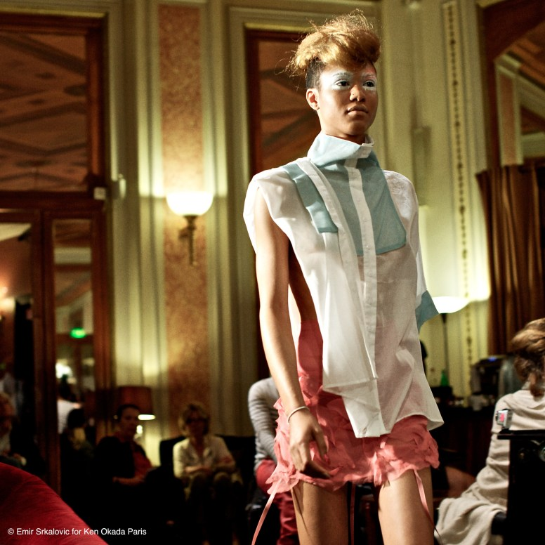 Fashion Week De¦üfile¦ü Ken Okada Ho¦étel Lutetia 24_09-15