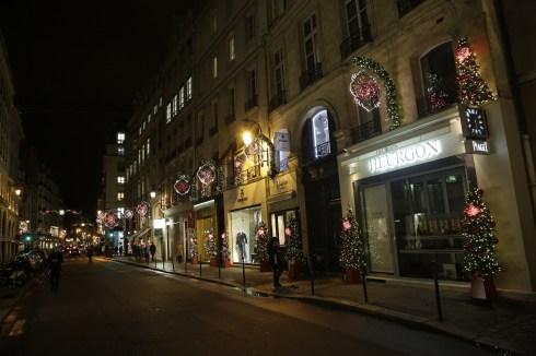Illumination du Comité du Faubourg Saint-Honoré Royale 3