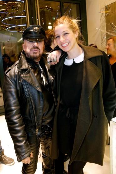 Guerlain Store & Restaurant Opening On Champs Elysees