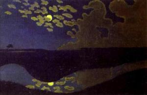 felix-vallotton-moonlight_clair-de-lune