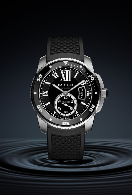 Montre Calibre de Cartier Diver en acier